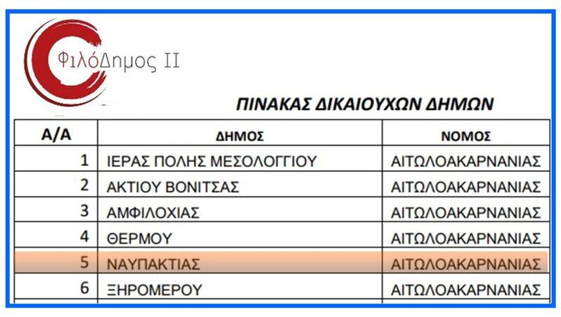 προγραμμα-Φιλοδημος-αγορά-απορριμματοφόρων-δήμοι