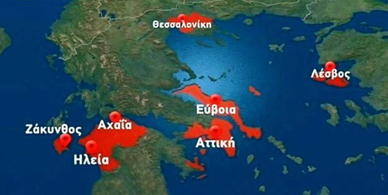 Χάρτης-κρούσματα-κορονοιος-Ελλάδα